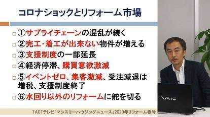 マンスリーハウジングニュース4月号♯01 特別解説【リフォーム市場と新型コロナの影響】